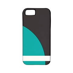 Turquoise Line Apple iPhone 5 Classic Hardshell Case (PC+Silicone)