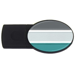Blues USB Flash Drive Oval (1 GB)