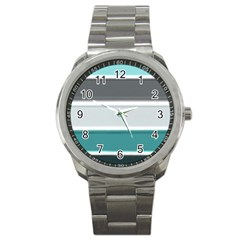 Blues Sport Metal Watch