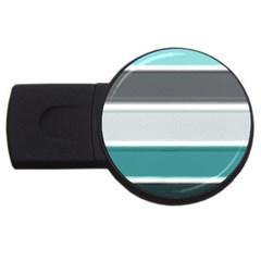 Blues USB Flash Drive Round (4 GB)
