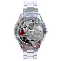 Bridge Stainless Steel Analogue Watch
