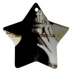Burnt Star Ornament (Two Sides)