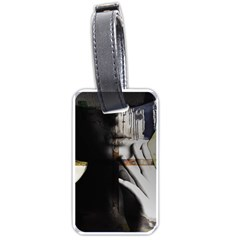 Burnt Luggage Tags (One Side)