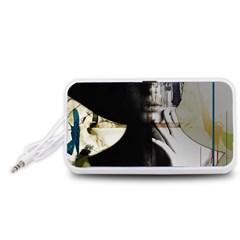 Burnt Portable Speaker (White)
