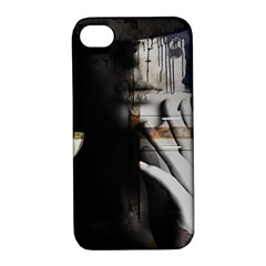 Burnt Apple iPhone 4/4S Hardshell Case with Stand