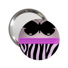 Butterfly 2.25  Handbag Mirrors