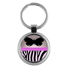 Butterfly Key Chains (Round)