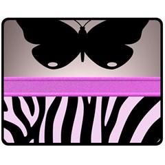 Butterfly Fleece Blanket (Medium)