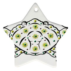 Cancer Star Ornament (Two Sides)