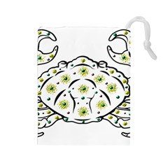 Cancer Drawstring Pouches (Large)