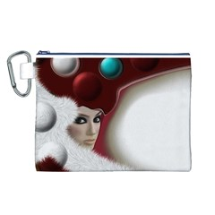 Carnaval Canvas Cosmetic Bag (L)