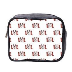 Lol Emoji Graphic Pattern Mini Toiletries Bag 2-Side