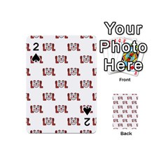 Lol Emoji Graphic Pattern Playing Cards 54 (Mini)