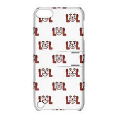 Lol Emoji Graphic Pattern Apple iPod Touch 5 Hardshell Case with Stand