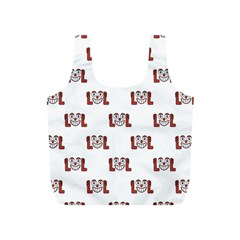 Lol Emoji Graphic Pattern Full Print Recycle Bags (S)