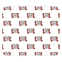 Lol Emoji Graphic Pattern Double Sided Flano Blanket (Small)
