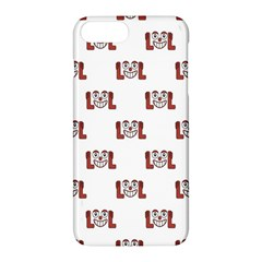 Lol Emoji Graphic Pattern Apple iPhone 7 Plus Hardshell Case