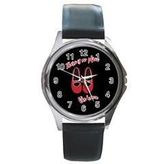 There is no place like home Round Metal Watch