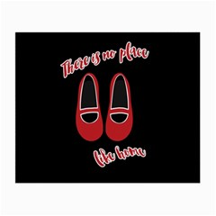 There is no place like home Small Glasses Cloth (2-Side)