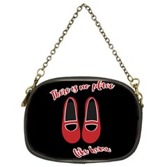 There is no place like home Chain Purses (Two Sides)