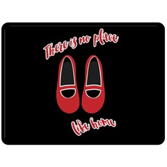 There is no place like home Fleece Blanket (Large)
