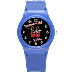 There is no place like home Round Plastic Sport Watch (S)