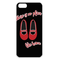 There is no place like home Apple iPhone 5 Seamless Case (White)