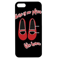 There is no place like home Apple iPhone 5 Hardshell Case with Stand