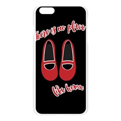 There is no place like home Apple Seamless iPhone 6 Plus/6S Plus Case (Transparent)