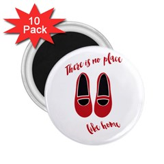 There is no place like home 2.25  Magnets (10 pack)