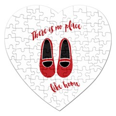 There is no place like home Jigsaw Puzzle (Heart)