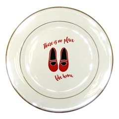 There is no place like home Porcelain Plates