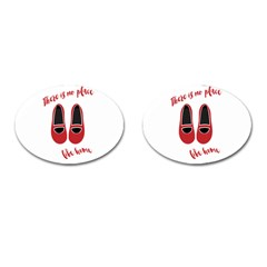 There is no place like home Cufflinks (Oval)