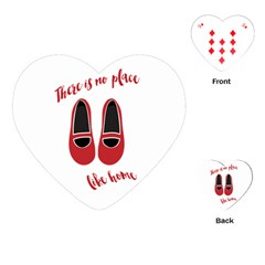 There is no place like home Playing Cards (Heart)