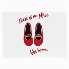 There is no place like home Large Glasses Cloth (2-Side)