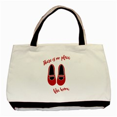 There is no place like home Basic Tote Bag (Two Sides)