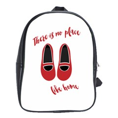 There is no place like home School Bags(Large)