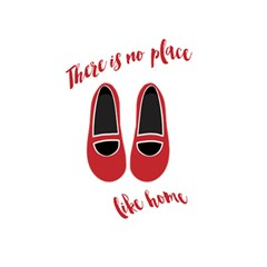 There is no place like home 5.5  x 8.5  Notebooks