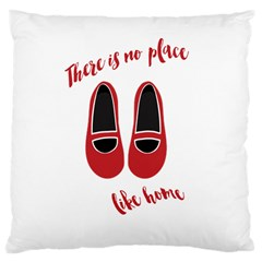 There is no place like home Large Cushion Case (One Side)