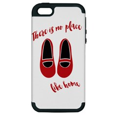 There Is No Place Like Home Apple Iphone 5 Hardshell Case (pc+silicone)