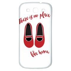 There is no place like home Samsung Galaxy S3 S III Classic Hardshell Back Case