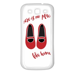 There is no place like home Samsung Galaxy S3 Back Case (White)