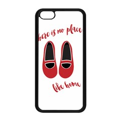There is no place like home Apple iPhone 5C Seamless Case (Black)