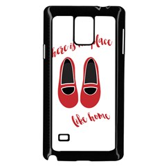 There is no place like home Samsung Galaxy Note 4 Case (Black)