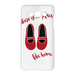 There Is No Place Like Home Samsung Galaxy A5 Hardshell Case