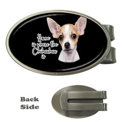 Chihuahua Money Clips (Oval)