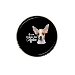 Chihuahua Hat Clip Ball Marker (10 pack)