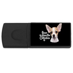 Chihuahua USB Flash Drive Rectangular (4 GB)