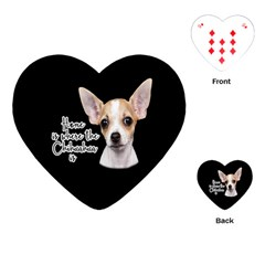 Chihuahua Playing Cards (Heart)