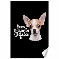 Chihuahua Canvas 24  x 36